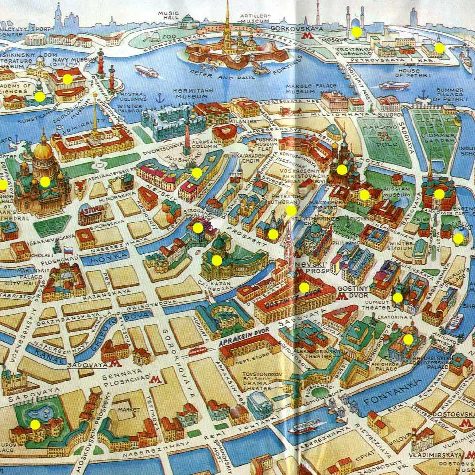 Санкт петербурга откроется в новом