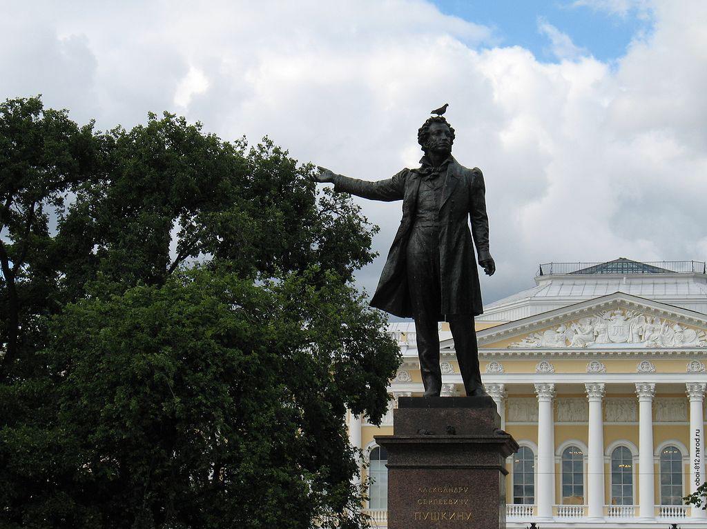 Пушкину в санкт петербурге памятник